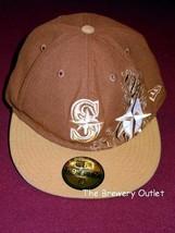 NEW ERA 59fifty SEATTLE MARINERS FLAT BILL HAT CAP - $12.16