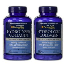 Puritan's Pride 2 Pack of Hydrolyzed Collagen 1000 mg 180-Tablets - $39.57