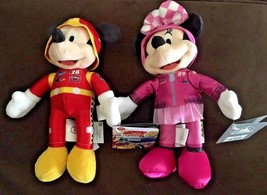 """Mickey and Minnie the Roadster Racers Plush Toys 9"""" Halloween Sale - $25.24"""