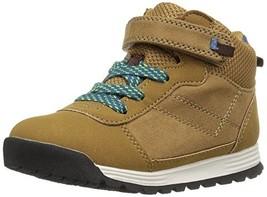 Carter's Boys' Pike2 Fashion Boot, Khaki, 7 M US Toddler - $27.61