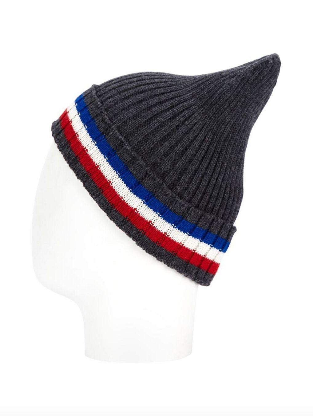 13b34f0aa82d78 Off-white c_o Virgil Abloh Striped Beanie Hat Cap Off White Supreme Kanye  Bape