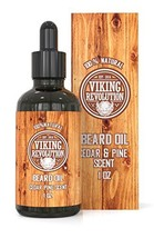 Beard Oil Conditioner - All Natural Cedarwood & Pine Scent with Organic Argan &