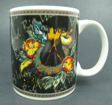 Hilo Hattie Coffee / Tea Mug 2002 Hawaii Big Island Volcano Lava Hibiscus - $6.93
