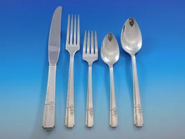 Grenoble by Prestige Oneida Silverplate Flatware Set Service 55 Pieces - $795.00