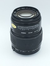 Canon AF Sigma Zoom A 35-135mm F3.5-4.5 For EOS FILM Cameras Good - $46.74