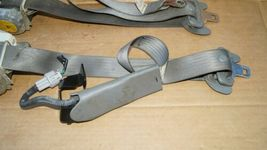 05-11 Toyota Tacoma Front Seat Belt Belts Set L&R GRAY image 3