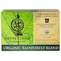 White Coffee Organic Rainforest Blend K Cups - $16.42