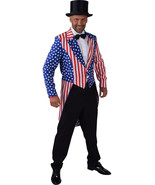Mr America / Uncle Sam , Stars and Stripes Tailcoat  - Gents  - $35.71