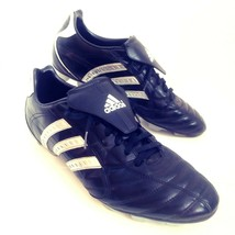 adidas Mens Traxion Soccer Shoes 13 Firm Ground Football Cleats Black Si... - $34.02