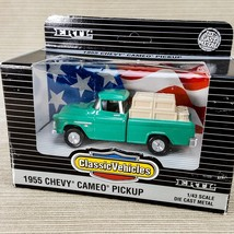 Ertl Classic Vehicles 1955 Chevy Cameo Pickup Truck 1/43 Scale Green #21... - $23.19