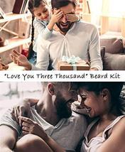 Lionbeard Beard Growth Grooming & Trimming Kit for Men Dad Beard Care - Beard Sh image 3
