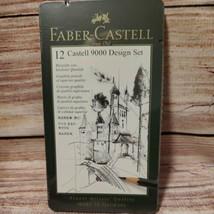 Graphite Sketch Pencil Set 12ct - Faber-Castell 9000 Design Set New Sealed  - $16.37