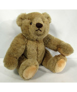 Vintage 1982 Gund Bialosky Teddy Bear Jointed 11 Inches - $9.89