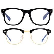 Blue Light Blocking Glasses for Women Men, Oversized Computer Glasses An... - $18.28