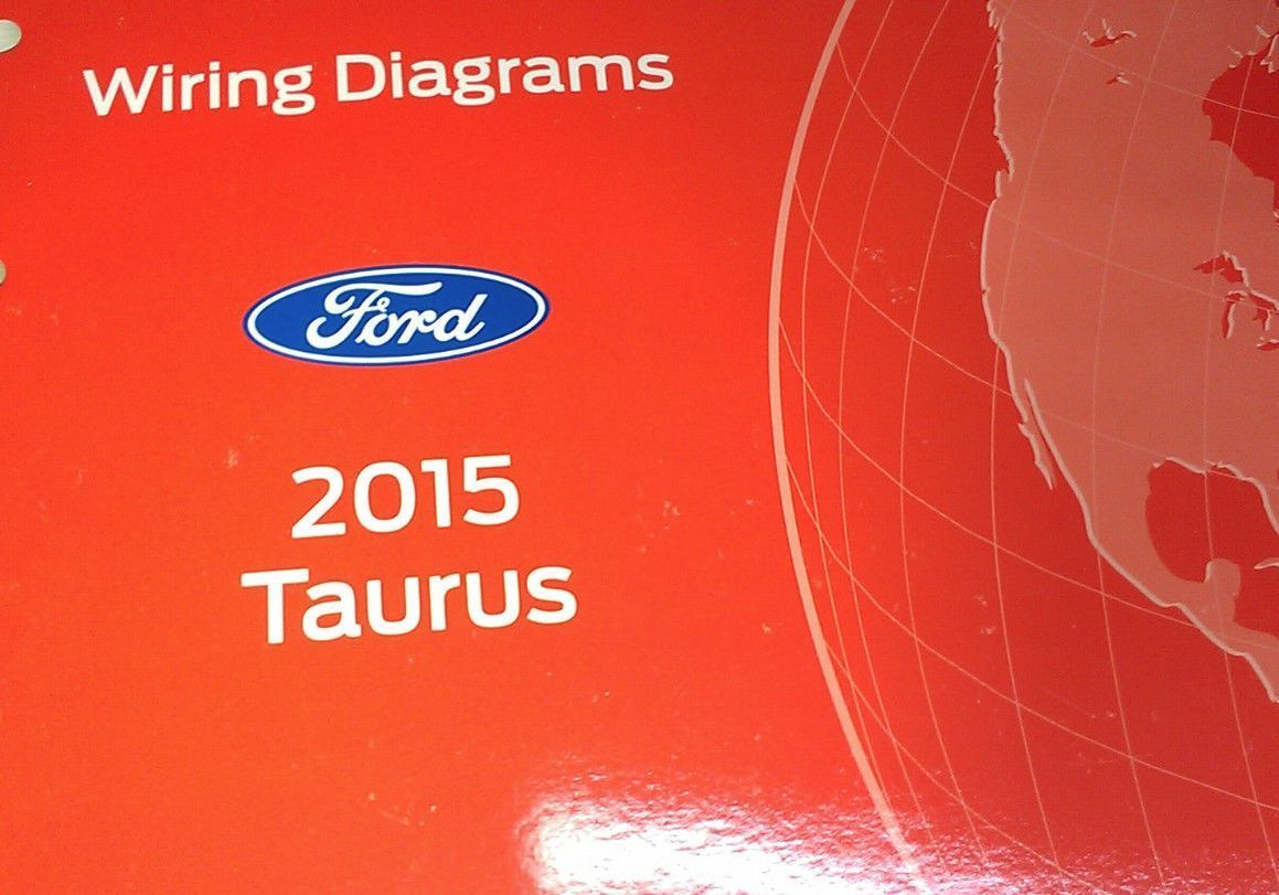 2015 Ford TAURUS Wiring Electrical Diagram Shop Manual OEM EWD 2015 Factory