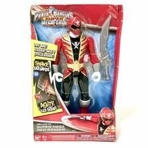 Power Rangers Super MegaForce Deluxe FX Super Mega Red Ranger 2014 - $39.11