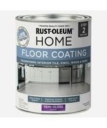 Rust-Oleum Home FLOOR COATING 1 qt. Tile Vinyl Wood SEMI-GLOSS CLEAR 358... - $26.99
