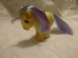 G1 My Little Pony 1982 Hasbro Lemon Drop - Lemondrop -yellow/purple COLL... - $57.00