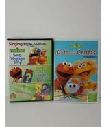 Sesame Street: Singing Triple Feature (DVD, 3-Disc Set) & arts & crafts ... - $13.86