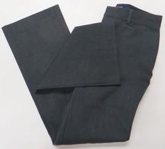 GAP Stretch Boot Cut Dress Pants Trousers Dark Gray Charcoal Sz 0 Regular - $19.99