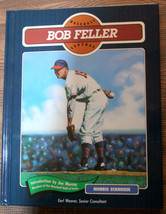 Autographed Bob Feller by Morris Eckhouse Hardcover Book Legends of Base... - $27.65