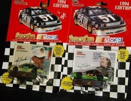 NASCAR Racing Champions Stock Car Kyle Petty # 42 and Ken Schrader Car # 25 AA20