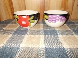 2 Pfaltzgraff Italian Fruit Soup Cereal Bowl 8676528 - $13.86