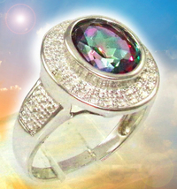 HAUNTED RING ANGELS EYE HIGHEST DIVINE EXTREME HIGH  MAGICK MYSTICAL TRE... - $447.77