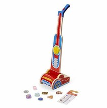 Melissa & Doug Wooden Vacuum Cleaner Play Set (10 Pcs) Role Toy - $29.69