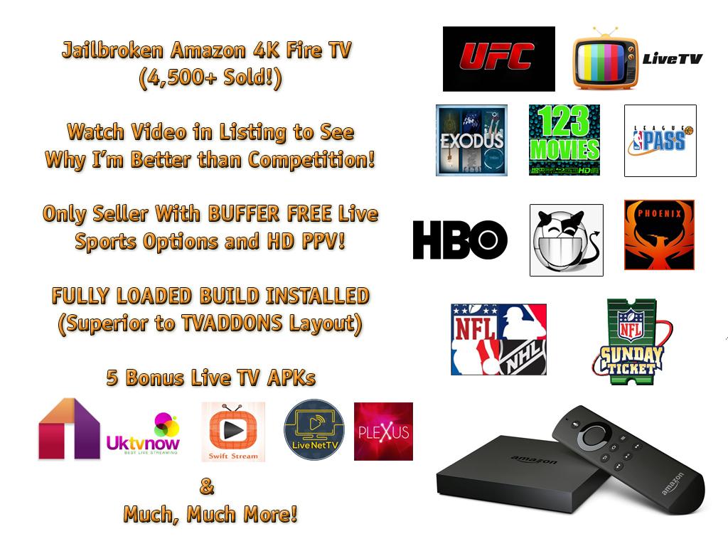 amazon fire tv box 4k fully loaded and 49 similar items rh bonanza com
