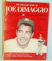 1950 The Thrilling Story of Joe DiMaggio Gene Schoor First Edition - $54.45