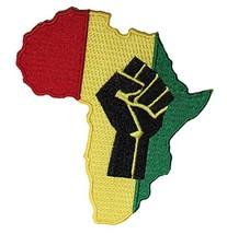 Application Rasta Africa Fist Patch - $7.78