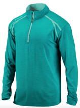 Columbia Golf Mens Zinger 1/4 Zip Pullover Jacket M L May Green - $21.57