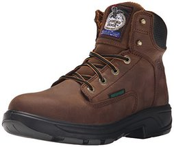 Georgia Boot Men's Flxpoint 6 Inch Work Shoe, Brown, 11.5 W US - $158.39