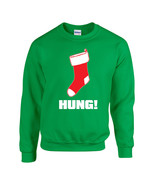 Hung Merry Christmas Stocking Unisex Crew Sweatshirt 1721 - $14.21+
