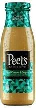 Peet's Coffee & Cream Iced Coffee 13.7 oz ( Pack of 6 ) - $39.59