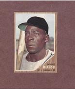1962 Topps # 28 Minnie Minoso St. Louis Cardinals Nice Card NM - $4.99