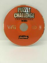 Puzzle Challenge Crosswords and More (Nintendo Wii, 2009) CIB, USA SELLER image 5