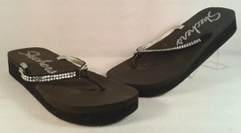 SKECHERS WOMAN'S SYNTHETIC CASUAL COMFORT BEACH THONG BLING SANDAL EUC S... - £22.15 GBP