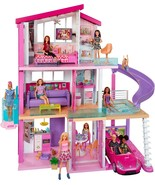 Barbie Dreamhouse Dollhouse with Wheelchair Accessible Elevator, Pool, S... - $249.99