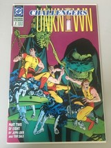 Challengers of the Unknown (1991 DC 2nd Series) #2 Signed by Michael Gol... - $13.86