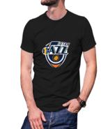 Utah Jazz T-shirt Black For Men - $20.99