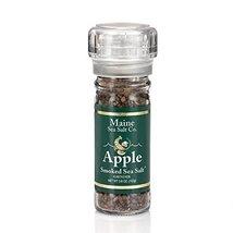 Maine Sea Salt - Apples Smoked Sea Salt and Grinder - 3.6 Ounce - $12.32