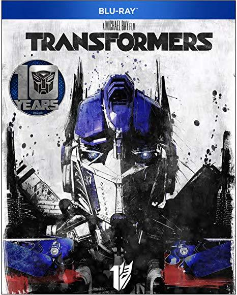 Transformers 10 Year Anniversary [Blu-ray]  New