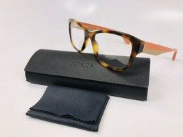 ✳ New Prada VPR 24R TKR-1O1 Havana/Orange & Beige Eyeglasses 54mm with Case - $89.05