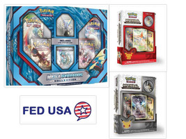 POKEMON TCG (3) Collection Box: Mega Gyarados, Mythical Arceus & Victini... - $52.50