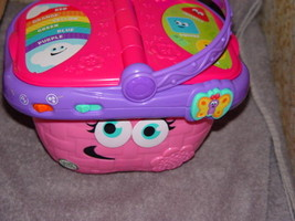 Leap Frog Talking Picnic Basket Pink (Basket Only) - $12.00