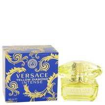 Versace Yellow Diamond Intense Perfume 1.7 Oz Eau De Parfum Spray image 3