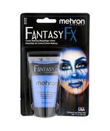 Mehron Fantasy F/X Cream Makeup 1 oz Blue - $6.13