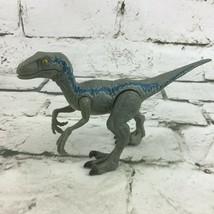 Jurassic Park World 2017 Velociraptor Dinosaur Action Figure wide Side W... - $24.74